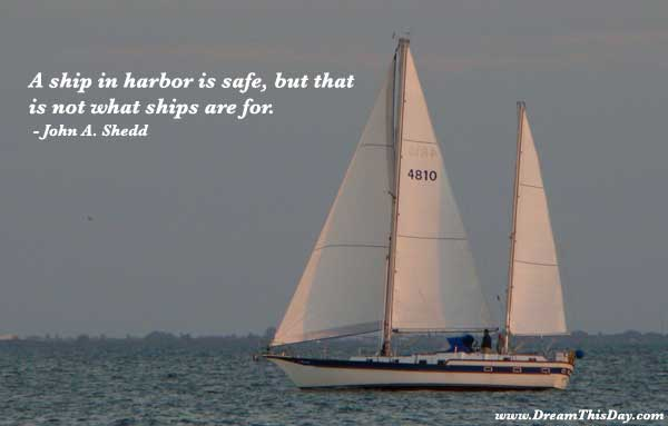 Cruise Ship Funny Quotes Quotesgram: John A. Shedd Quotes